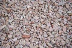 Las pequeñas rocas se cierran para arriba Foto de archivo libre de regalías