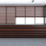Las persianas ruedan en las ventanas libre illustration