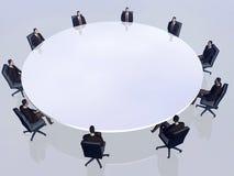 Las personas del éxito en conferencia. libre illustration