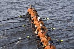 Las personas del Rowing de los hombres de la Universidad de Texas Fotografía de archivo libre de regalías