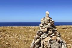 Las piedras del deseo para hacer un viento del deseo traerán Imagenes de archivo