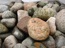 Las piedras grandes de diferente Fotografía de archivo libre de regalías