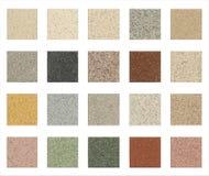Las piedras texture el conjunto Fotografía de archivo libre de regalías