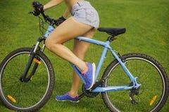 Las piernas de la mujer Imagen de archivo libre de regalías