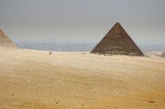 Las pirámides egipcias Fotografía de archivo
