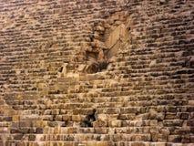 Las pirámides y la esfinge de Giza en Egipto, Oriente Medio Imagen de archivo