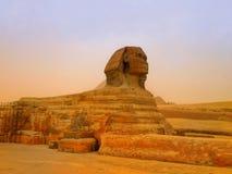 Las pirámides y la esfinge de Giza en Egipto, Oriente Medio Fotografía de archivo