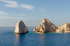 Las pistas terminan, Cabo San Lucas   Imagen de archivo