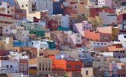 Las Plamas de Gran Canaria, Ciudad Alta Royalty Free Stock Photography