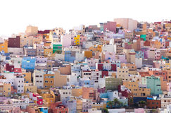 Las Plamas de Gran Canaria, Ciudad Alta Royalty Free Stock Image