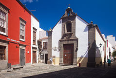 Las Plamas de Gran Canaria, old town Royalty Free Stock Images
