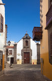 Las Plamas de Gran Canaria, old town Royalty Free Stock Photo