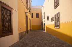 Las Plamas de Gran Canaria, old town Stock Photography