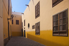 Las Plamas de Gran Canaria, old town Stock Photo