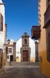 Las Plamas de Gran Canaria, old town Stock Images
