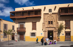 Las Plamas de Gran Canaria, old town Royalty Free Stock Photography