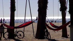 Las playas de Los Ángeles y de Santa Monica LOS ÁNGELES almacen de video