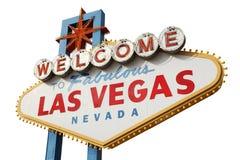 las podpisują Vegas Fotografia Royalty Free