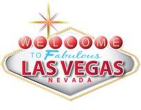 las podpisują Vegas Obrazy Royalty Free
