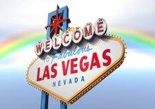 las podpisują Vegas Fotografia Stock