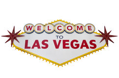 las podpisują Vegas Obrazy Stock