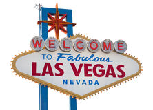 las podpisują Vegas obraz stock