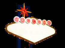 las podpisują Vegas Zdjęcia Stock