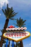 las podpisują Vegas obraz royalty free