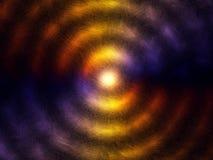 Las porciones de partículas en circular arreglan Imagenes de archivo