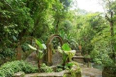 Las Pozas alias Edward James Gardens in Mexiko stockfotografie