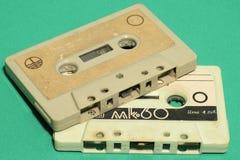 Las primeras cintas lanzadas en la URSS en los años 70 foto de archivo