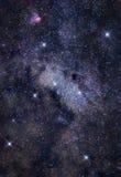 Las profundidades del espacio Foto de archivo libre de regalías