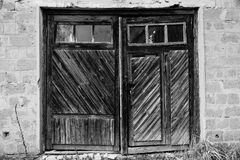 Las puertas al pasado Fotos de archivo