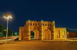 Las puertas de Khiva foto de archivo libre de regalías