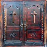 Las puertas de la catedral Imagen de archivo libre de regalías