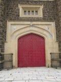 Las puertas del castillo Fotografía de archivo libre de regalías