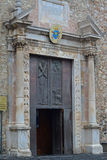Las puertas del metal se abren Fotos de archivo