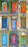 Las puertas diseñan en Bali Imagen de archivo libre de regalías