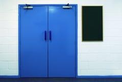 Las puertas dobles Fotos de archivo