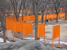 Las puertas en Central Park, New York City 2004 Fotos de archivo libres de regalías