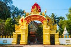 Las puertas en el templo Fotografía de archivo libre de regalías