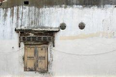 Las puertas y las ventanas alrededor de Kota Lama Old Town, Semarang, Ind Fotografía de archivo libre de regalías