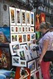 Las Ramblas - Barcelona - Spain stock image