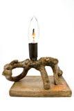 Las ramificaciones secas basaron la lámpara Imágenes de archivo libres de regalías