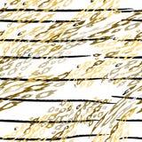 Las rayas modernas del leopardo de la impresi?n ennegrecen blanco stock de ilustración