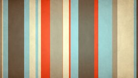 Las rayas multicoloras Paperlike 53 colores daneses de //4k 60fps texturizaron el lazo video del fondo ilustración del vector