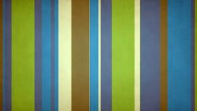 Las rayas multicoloras Paperlike 54 jóvenes frescos de //4k 60fps colorean el lazo video sucio del fondo libre illustration