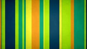 Las rayas multicoloras Paperlike 48 //4k 60fps texturizaron el lazo video del fondo de las verticales frescas de los colores ilustración del vector