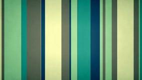 Las rayas multicoloras Paperlike 4k texturizaron el lazo video @60fps del fondo de las barras azulverdes stock de ilustración