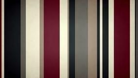 Las rayas multicoloras Paperlike 4k texturizaron el lazo video @60fps del fondo de las barras de colores del nostálgico stock de ilustración